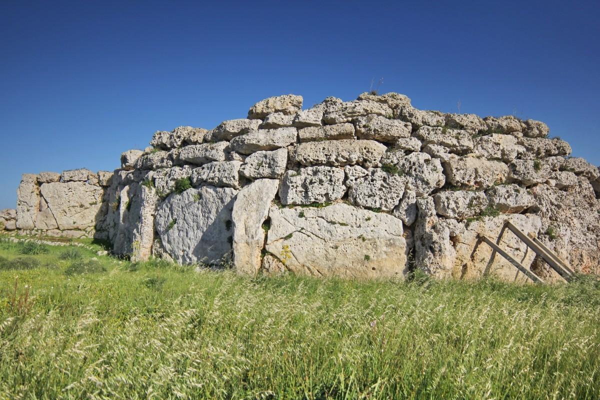 Zdjęcia: it-Tempji tal-Ġgantija, Gozo, megalitycznnie..., MALTA