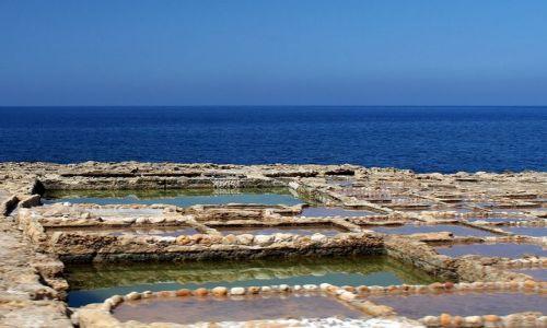 Zdjęcie MALTA / Gozo / Marsalforn / Poletka solne