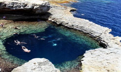MALTA / - / Gozo / Blue Hole