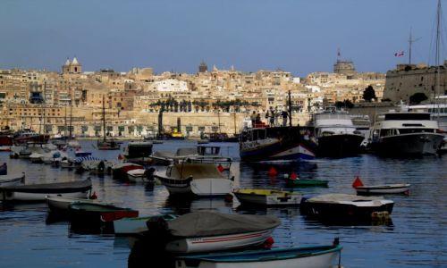 Zdjęcie MALTA / stolica Malty / Valletta / Malta-Valletta