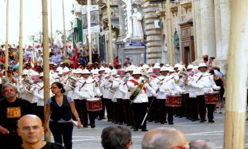 MALTA / stolica Malty / Valletta / Malta-Valletta