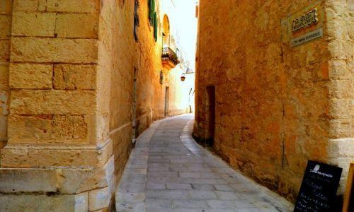 Zdjęcie MALTA / - / historyczne miasto Mdina / Malta-Mdina
