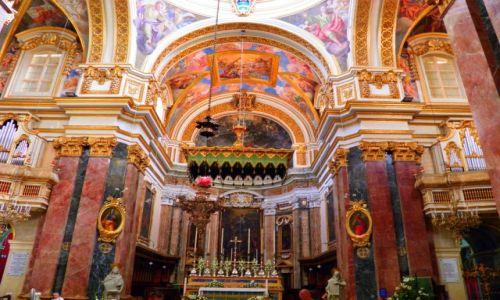 MALTA / - / historyczne miasto Mdina / Malta-Mdina