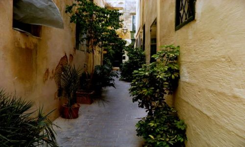 MALTA / Wyspa Gozo / miasto Rabat  / Malta-Gozo