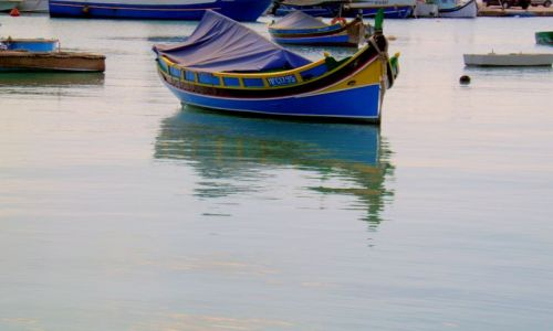 MALTA / - / miasteczko Marsaxlokk / Malta-Marsaxlokk