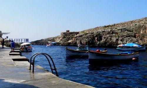 Zdjecie MALTA / - / Poludniowe wybrzeze Malty / Malta-Blue Grotto