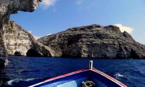 Zdjecie MALTA / - / Poludniowe wybrzeze Malty / Malta -Blue Grotto