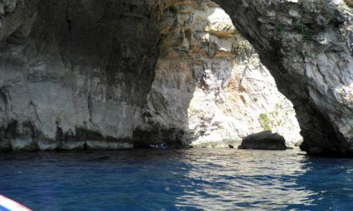 MALTA / - / Poludniowe wybrzeze Malty / Malta-Blue Grotto