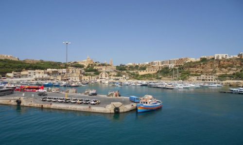 Zdjecie MALTA / Gozo / Mgarr / W porcie