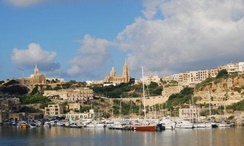 Zdjecie MALTA / Gozo / Mgarr / Port w Mgarr