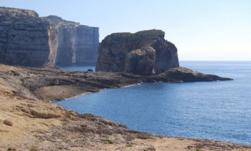 Zdjecie MALTA / Gozo / Dwejra / Fungus Rock