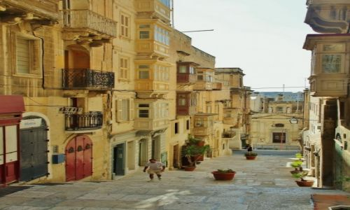 Zdjecie MALTA / - / Valletta / Uliczki Valletty