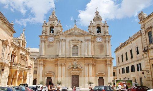 Zdjęcie MALTA / - / Mdina / Katedra