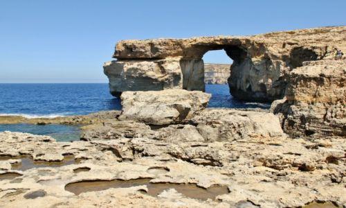Zdjecie MALTA / Gozo / Dwejra / Azure Window
