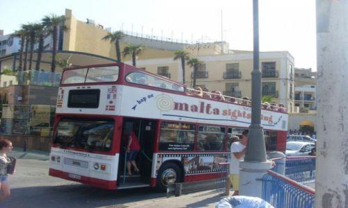 Zdjecie MALTA / St. Julian,s / Malta / Zwiedzanie