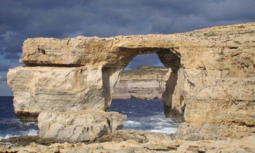 Zdjecie MALTA / Gozo / Gozo / Lazurowe okno