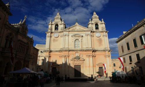 Zdjęcie MALTA / Malta centralna / Mdina / Katedra św. Pawła