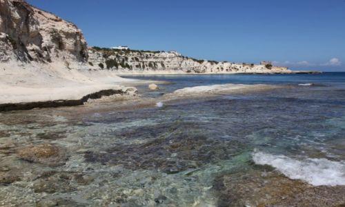 Zdjęcie MALTA / Marsaskala / Zatoka św. Tomasza / Plaża