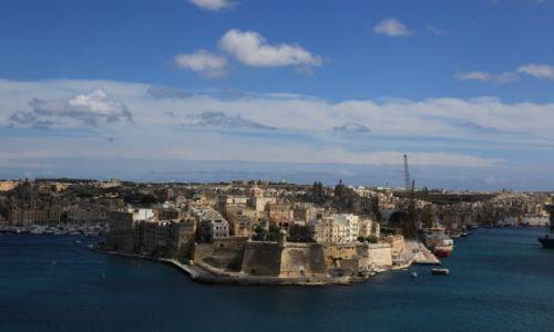 Zdjecie MALTA / Valletta / Górne ogrody Barrakka / Birgu, czyli Vittoriosa
