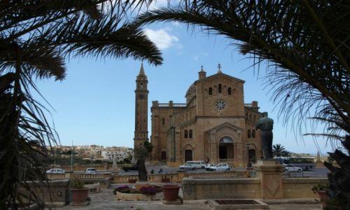 MALTA / Gozo / Għarb / Bazylika Ta' Pinu