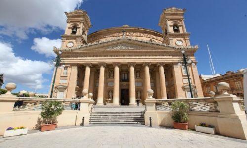 Zdjęcie MALTA / Malta  srodkowa / Mosta / Rotunda pod wezwaniem Wniebowzięcia NMP