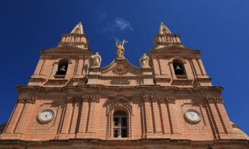 Zdjęcie MALTA / Melieha / Sanktuarium Maryjne / Kościół parafialny Matki Boskiej Zwycięskiej.