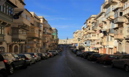 Zdjęcie MALTA / Valletta / Centrum / Ulica