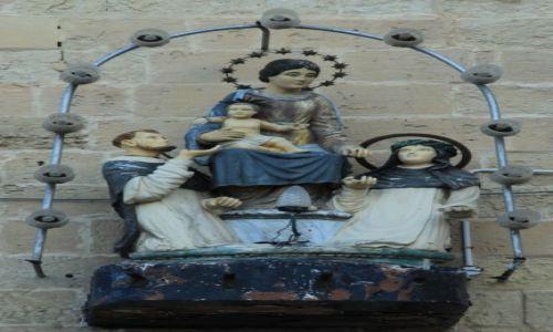 MALTA / Valletta / Centrum miasta / Naścienny kapliczka
