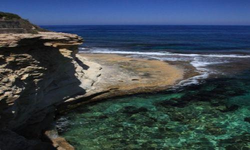 Zdjęcie MALTA / Gozo / Marsalforn / Maleńka plaża