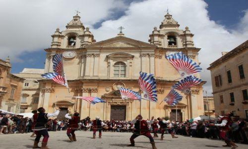 Zdjęcie MALTA / Malta centralna /  Mdina / Parada