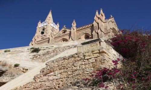 Zdjecie MALTA / Gozo / Ghajnsielem / Kościół parafialny Matki Bożej z Loreto