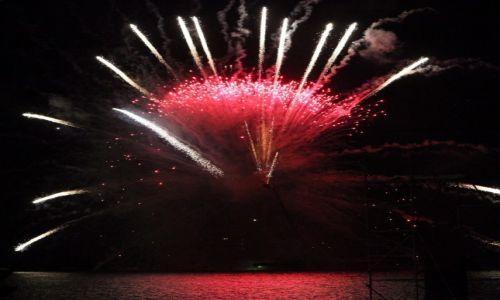 Zdjęcie MALTA / Valletta  / Floriana / Pokaz fajerwerków