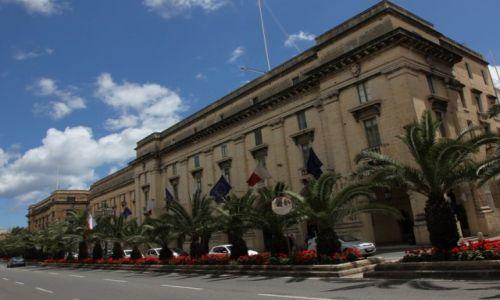 Zdjęcie MALTA / Valletta  / Floriana / Aleja