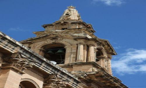 Zdjęcie MALTA / Valletta  / Katedra św. Publiusza / Wieża