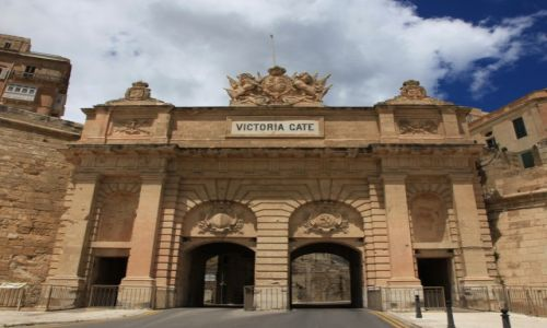 Zdjęcie MALTA / Valletta  / Port / Victoria Gate