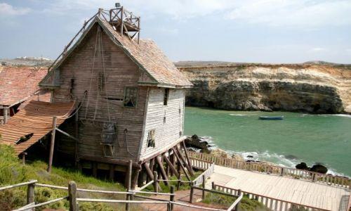 Zdjecie MALTA / Malta / Anchor Bay  / Domek nad morzem :-)