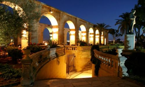 Zdjecie MALTA / Malta / Valetta / Upper Barracca Gardens