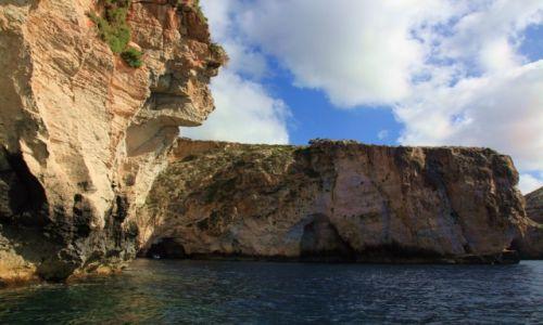 Zdjęcie MALTA / Zurrieq / Blue Grotto / Zatoka błękitnych grot