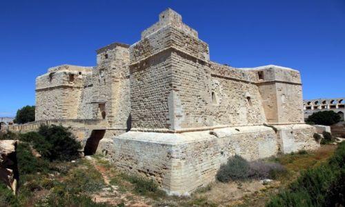 Zdjęcie MALTA / Malta Południowo-wschodnia / Marsaskala / Twierdza św. Tomasza