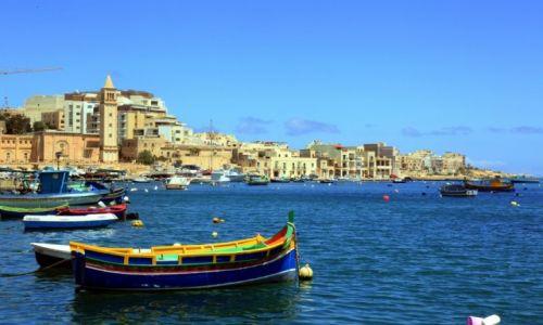 Zdjęcie MALTA / Malta Południowo-wschodnia / Marsaskala / W porcie rybackim