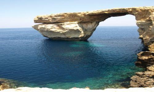 Zdjecie MALTA / Gozo / azure window / klasyczne