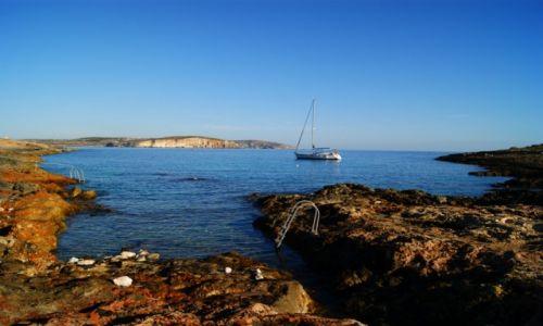 MALTA / Mellieha / Mellieha / Zatoczka na skraju Malty