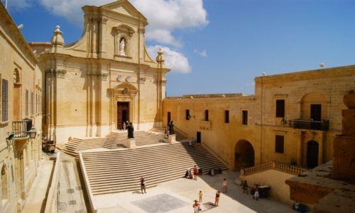 Zdjecie MALTA / Gozo / Victoria / Katedra w Gozo