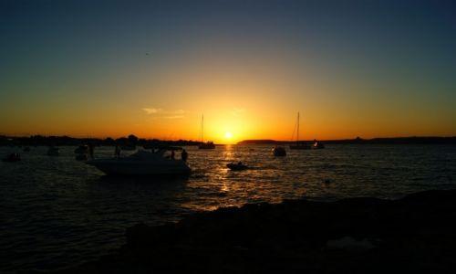 Zdjęcie MALTA / Mellieha / Mellieha / Zachodzące słońce