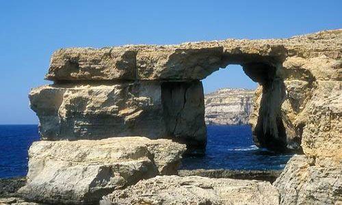 Zdjecie MALTA / Gozo / Lazurowe okno / Lazurowe okno