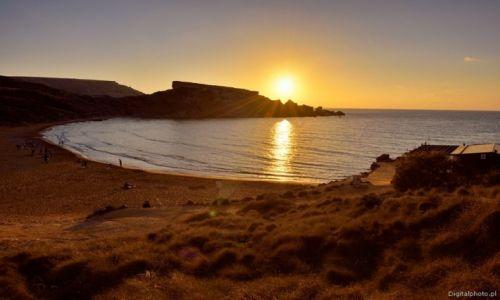 Zdjecie MALTA / Malta / Ghajn Tuffieha Bay / Plaża na Malcie