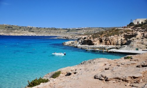 Zdjecie MALTA / comino / blue lagoon / Pi�kne wspomnie