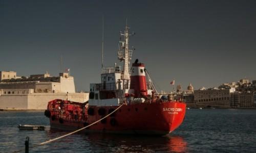 Zdjęcie MALTA / Valetta / port / Marina