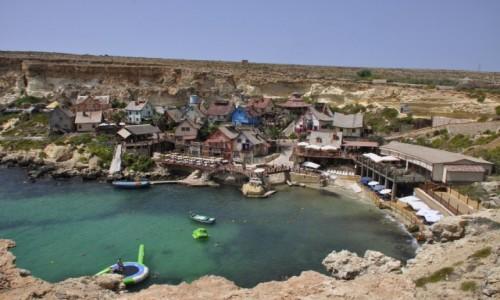 Zdjęcie MALTA / - / Popeye Village / Malta, Popeye Village