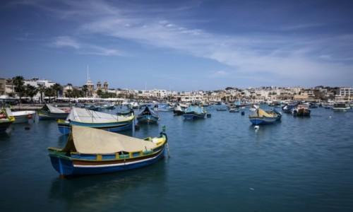 Zdjęcie MALTA / Marsaxlokk / zatoka / Marsaxlokk